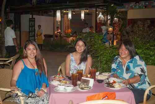 Dinner at Le Soleil de Boracay