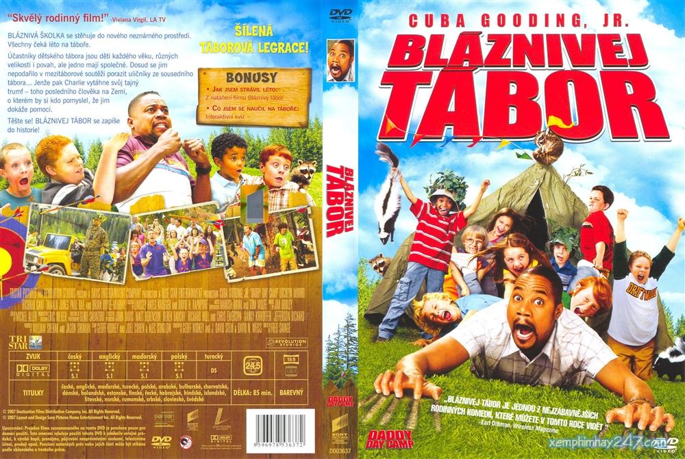 http://xemphimhay247.com - Xem phim hay 247 - Cắm Trại Cùng Bố (2007) - Daddy Day Camp (2007)