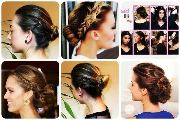 Admirable Cute Easy Braided Bun Hairstyle For Long Hair Latest Hair Styles Hairstyles For Men Maxibearus
