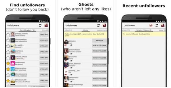 Aplikasi Membantu Mengetahui Unfollowers Instagram Dengan Cepat
