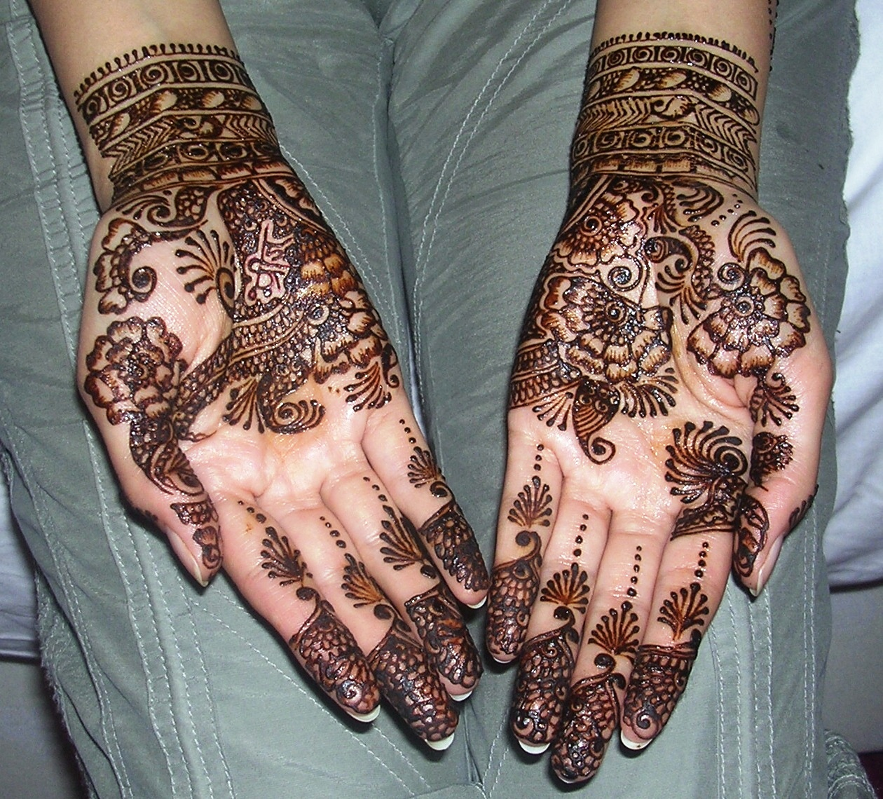 Indian Bridal Henna Designs: Womenz Magazine: Latest Indian Bridal Mehndi Designs