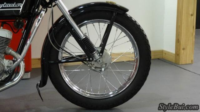 Xe cổ Harley Davidson Hummer 1953 Model 165