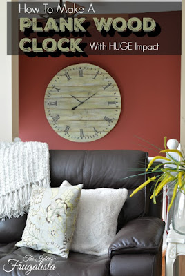Plank Wood Clock Tutorial