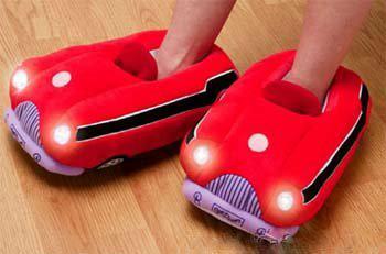Sandal Mobil Yang Lampu Nya Bisa Menyala