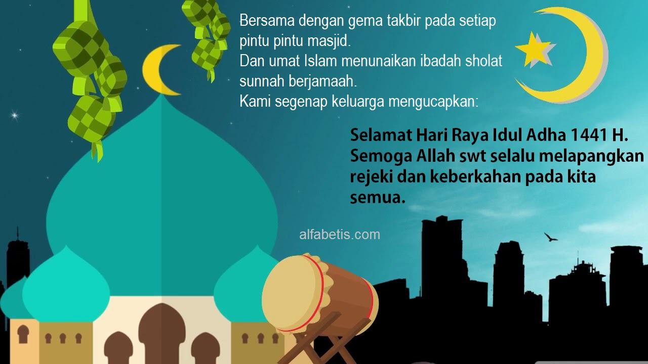 Download Gratis Kartu Ucapan Idul Qurban