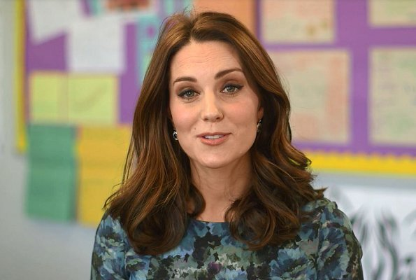 Duchess Catherine of Cambridge, made within the scope of Place2Be campaign