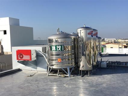 美容美髮店鋪及飯店民宿都是用熱水量高的場所,非常適合使用熱泵熱水器。