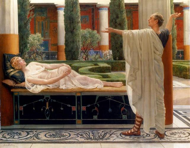 Horácio e Lydia - Jhon Collier e suas pinturas belíssismas | Neoclassicismo