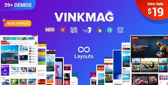 concept Creative Newspaper WordPress Theme Free Download Vinkmag v1.3 – Multi-concept Creative Newspaper WordPress Theme