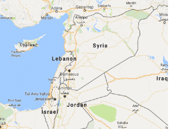 The name Palestine disappeared from Google Maps, replaced with ...