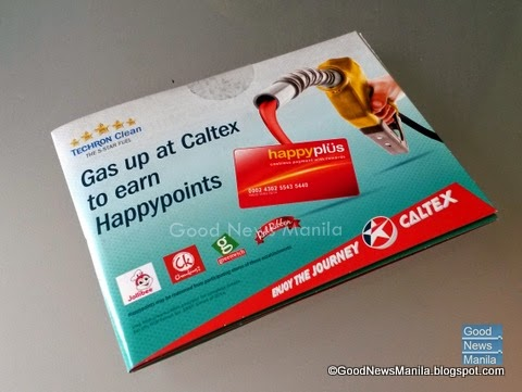 Caltex Happyplus Rewards Promo