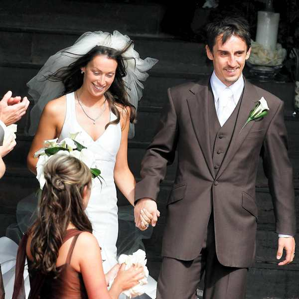 Red Carpet Wedding: Gary Neville and Emma Hadfield - Red ...