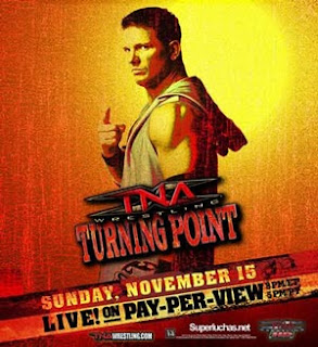 TNA Turning Point 2009 - Event Poster