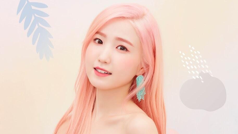Hitomi, Beautiful, Pink Hair, IZ*ONE, Bloom*Iz, 4K, #6.712