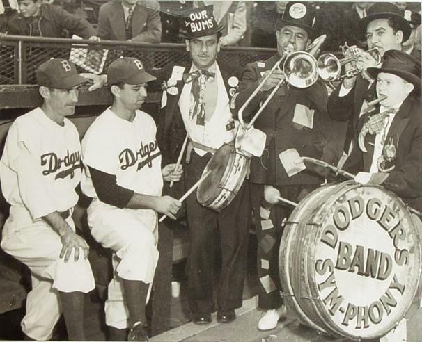 North Brooklyn History Blog: The Dodger Sym-PHONY Band