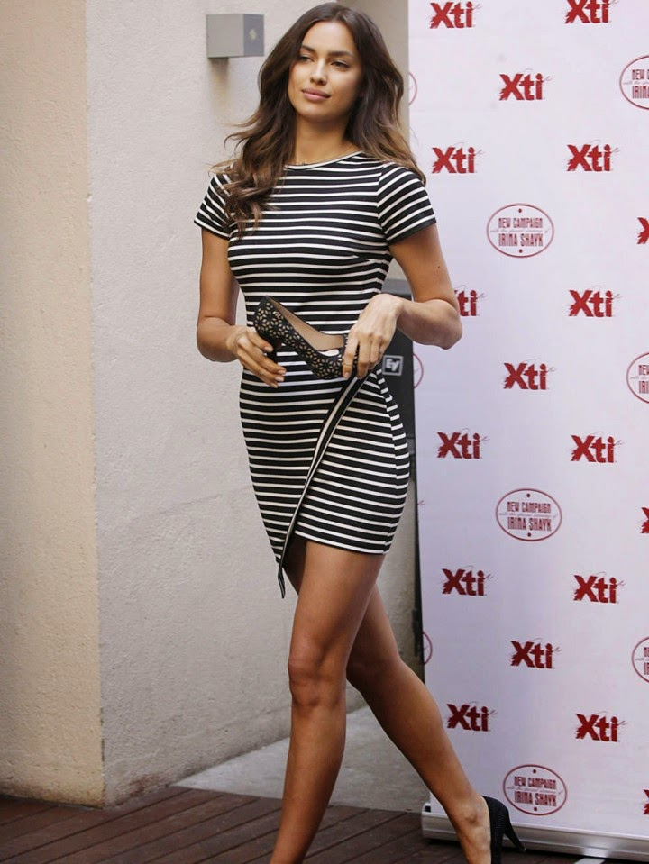 Irina Shayk at Photocall XTI in Madrid