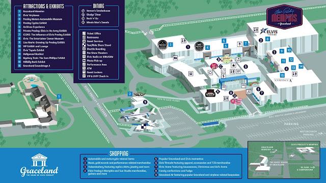 Mapa de Graceland