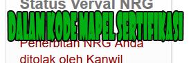 Maksud Digit 7 8 9 Dalam Kode Mapel Sertifikasi