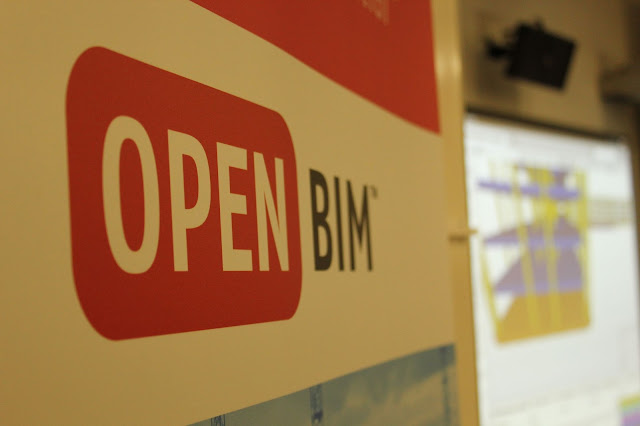 cartel de Open BIM