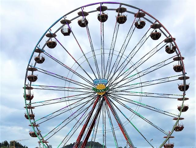 Riesenrad an der Messe Luzern