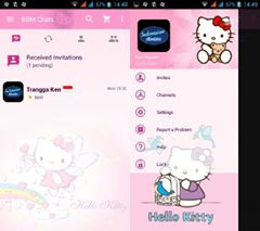 BBM Mod Pink Hello Kitty Based 2.12.0.11