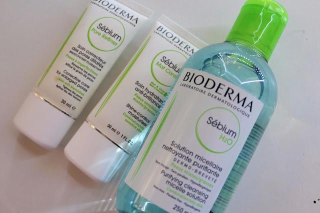 Linea sebium con Sebium Mat Control, mi tratamiento para la piel mixta a grasa.