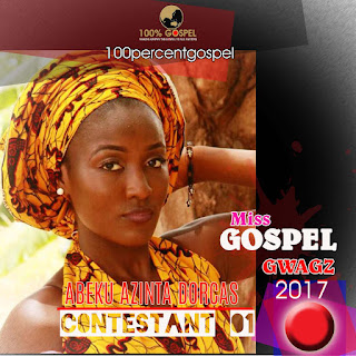 We present to you the finalist... MISS GOSPEL GWAGZ BEAUTY PAGEANT 2017