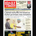NAIJA NEWSPAPERS: TODAY'S THE DAILY TIMES NEWSPAPER HEADLINES [1 NOVEMBER, 2017].