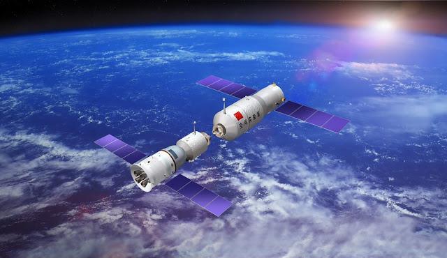 Sau sự cố của Trạm Không gian Thiên Cung 1, Trung Quốc đã phóng thế hệ tiếp theo là Trạm Không gian Thiên Cung 2 vào ngày 15 tháng 9 năm 2016. Hình ảnh: China Manned Space Engineering Office.
