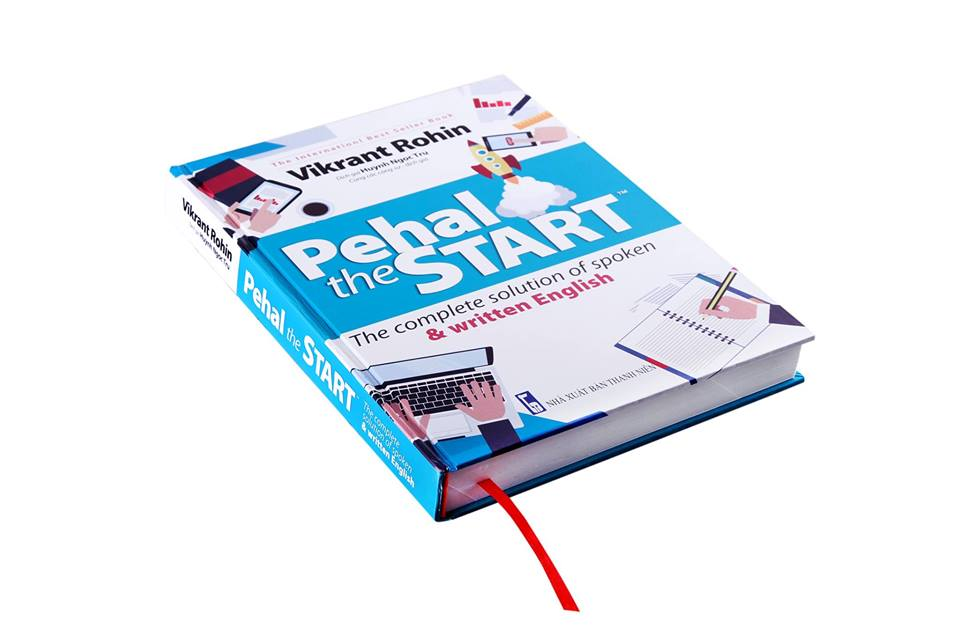Quyển sách học từ vựng Pehal The Start - Tác giả Vikrankt Rohin