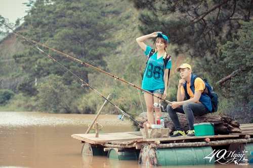 Lấy chồng giỏi câu cá là lựa chọn sáng suốt của các bạn gái