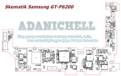Skematik Samsung GT-P6200