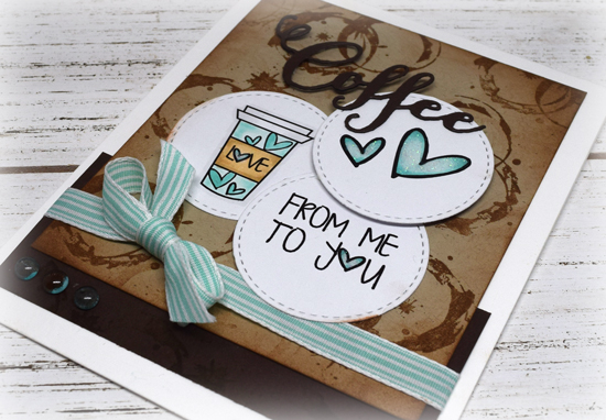 Handmade card by Julee Tilman using Verve Stamps. www.poeticartistry.blogspot.com