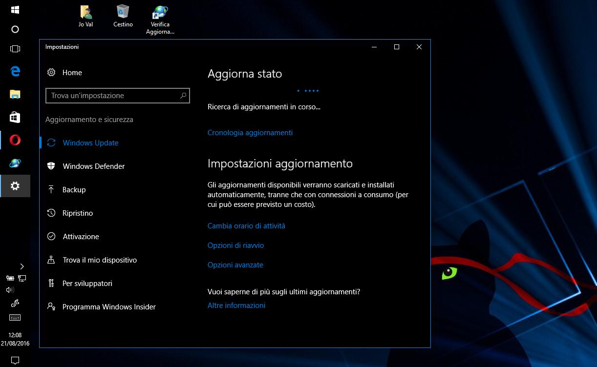 Jo Val - Come verificare la disponibilità di aggiornamenti con un solo click in Windows 10 - HTNovo