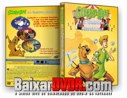 Scooby-Doo e o Carnaval Assustador (2017) DVD-R OFICIAL