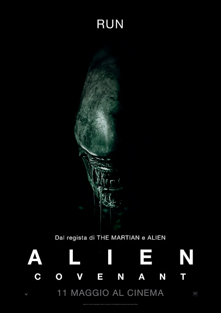 Alien covenant recensione poster