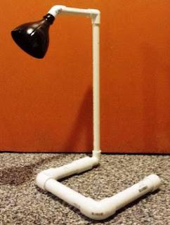 Cara Membuat Lampu Meja dari Botol Bekas dan Pipa Pvc