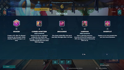 Paladins - Dredge's abilities
