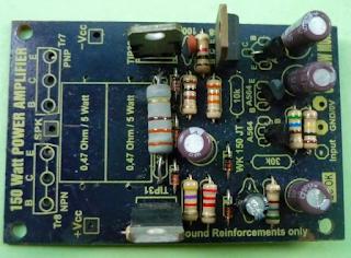 3 cara memperbaiki power Ampli OCL yang tidak bunyi atau mati