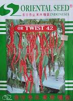 Cabai Keriting Or Twist 42, Cabe Ort Twist 42 Murah, Harga Cabe Or Twist 42, Benih, Cabai, Merah, Keriting, Or Twist 42, LMGA AGRO, Toko Pertanian, Kediri, Toko Online, Harga murah