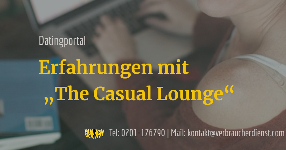 Casual Dating Erfahrungen