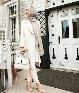 Model baju kerja muslim gaul