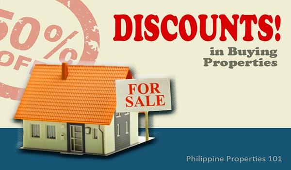 Discounts in Buying Properties