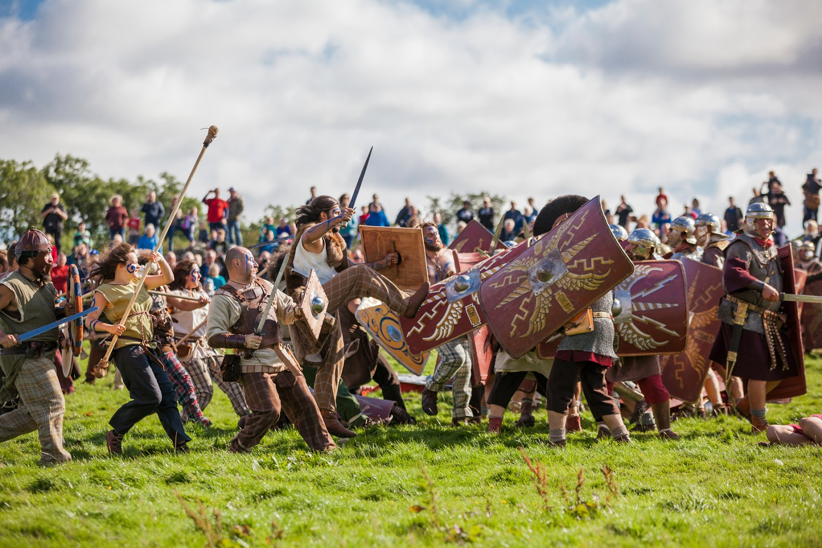 Hadrian's Wall Live 2016 - Sat 3rd & Sun 4th September. Book your tickets now.