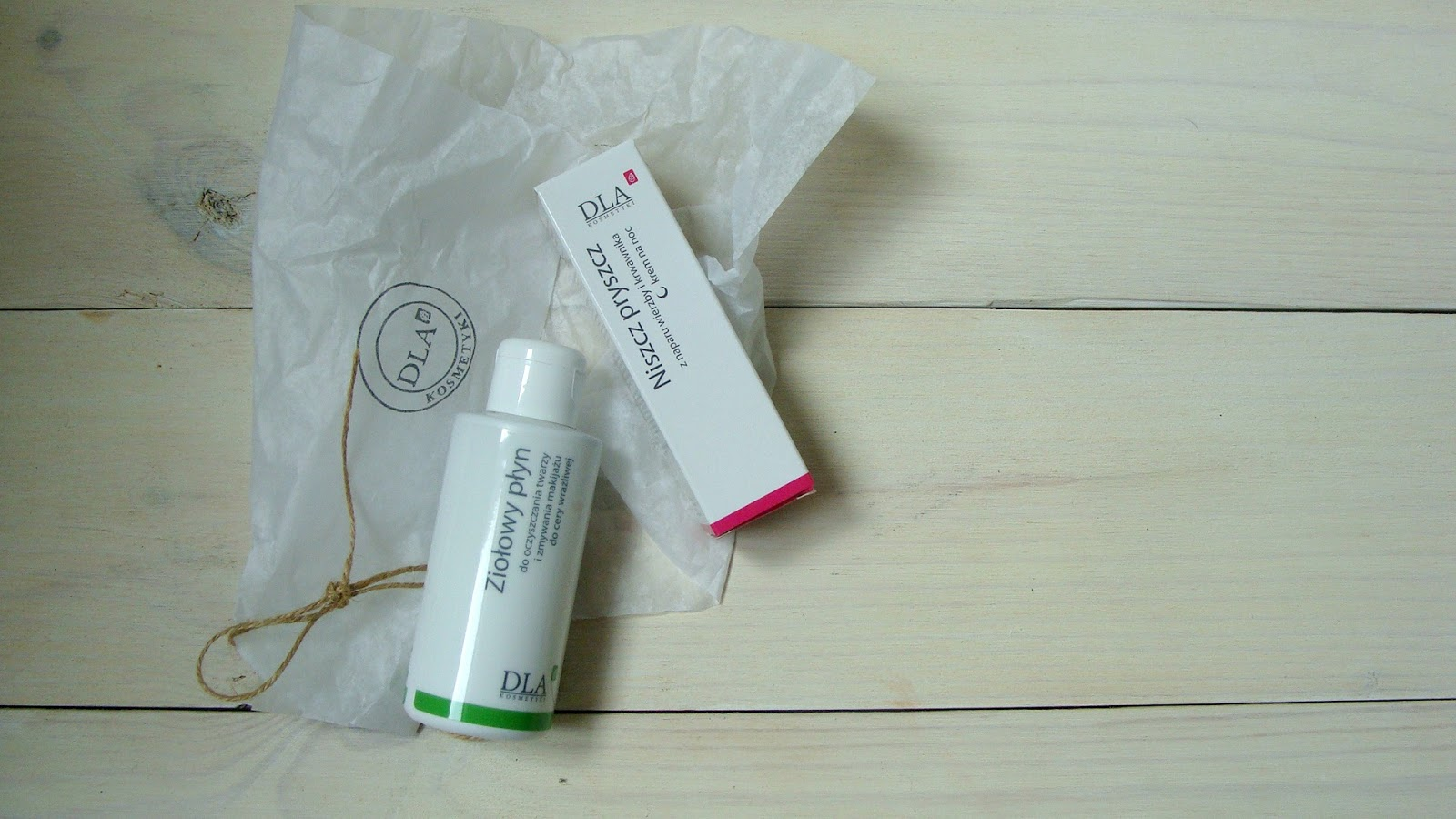 Kosmetyki DLA, ziołowy płyn do oczyszczania twarzy kosmetyki DLA, krem na noc niszcz pryszcz kosmetyki DLA
