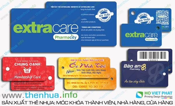 Làm thẻ VIP 100% chất liệu PVC cao cấp số ít