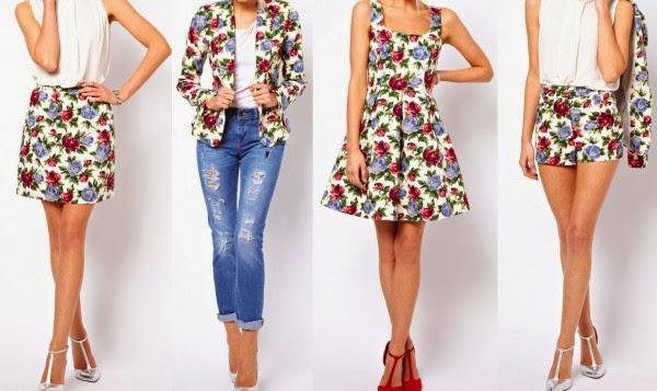 Resultado de imagen de flores en la ropa