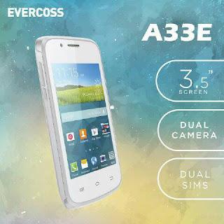 Spesifikasi dan Harga Evercoss A33E