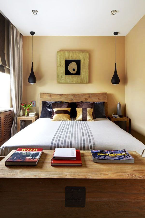 Furniture untuk Kamar Tidur Minimalis Ukuran Kecil Mungil