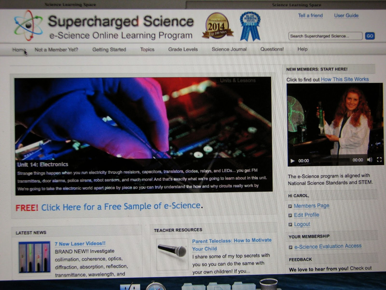 Home Sweet Life Supercharged Science E Science Premium